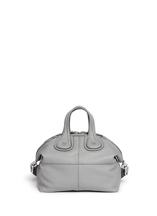 Back View - Click To Enlarge - Givenchy - 'Nightingale' small leather bag