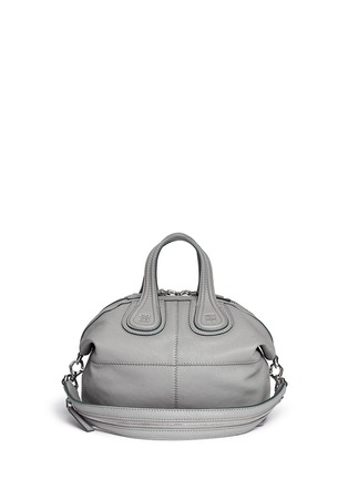 Main View - Click To Enlarge - Givenchy - 'Nightingale' small leather bag