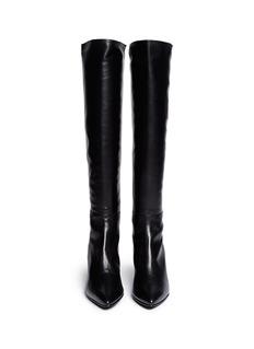 STUART WEITZMAN'Demi Mimi' elastic back leather boots