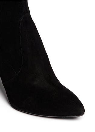 Detail View - Click To Enlarge - Stuart Weitzman - 'Highstreet' suede thigh high boots