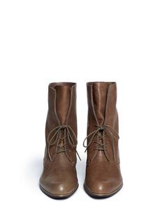 STUART WEITZMAN'Stepin' vintage lace up boots