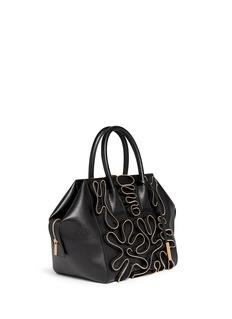 STELLA MCCARTNEY 'Cavendish' medium squiggle zip tote