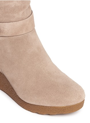 Detail View - Click To Enlarge - Michael Kors - 'Lizzie' wedge boots