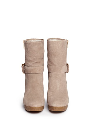 Figure View - Click To Enlarge - Michael Kors - 'Lizzie' wedge boots