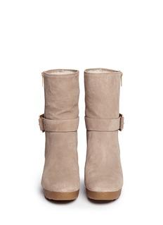 MICHAEL MICHAEL KORS'Lizzie' wedge boots