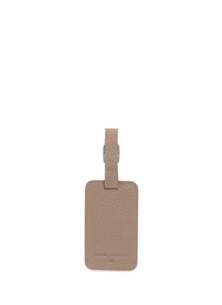 Bynd Artisan-Single window leather luggage tag