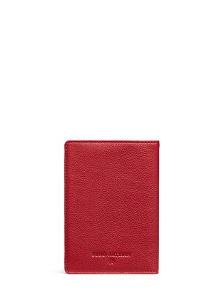 Back View - Click To Enlarge - Bynd Artisan - Fine grain leather passport holder