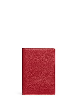 Main View - Click To Enlarge - Bynd Artisan - Fine grain leather passport holder
