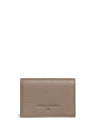 Bynd Artisan - Pebble grain leather multi card holder