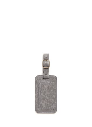Main View - Click To Enlarge - Bynd Artisan - Single window leather luggage tag
