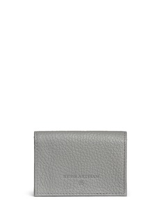Bynd ArtisanPebble grain leather multi card holder