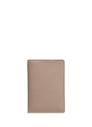 Bynd Artisan - Pebble grain leather passport holder