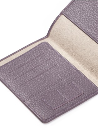 Detail View - Click To Enlarge - Bynd Artisan - Pebble grain leather passport holder