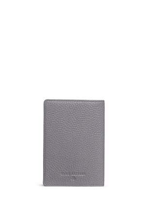 Back View - Click To Enlarge - Bynd Artisan - Pebble grain leather passport holder