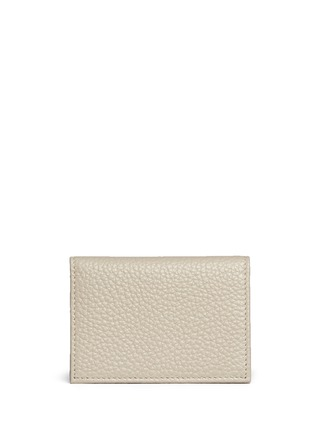 Main View - Click To Enlarge - Bynd Artisan - Pebble grain leather multi card holder