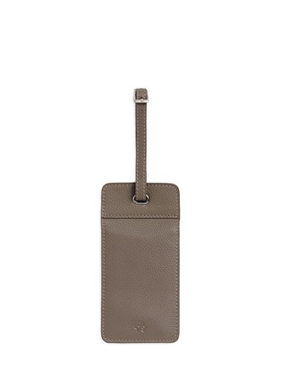 Figure View - Click To Enlarge - Bynd Artisan - Double window leather luggage tag