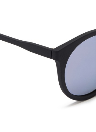 Detail View - Click To Enlarge - Spektre - 'Stardust' flat mirror lens acetate round sunglasses