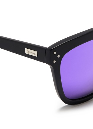 Detail View - Click To Enlarge - Spektre - 'Milano' acetate square mirror sunglasses