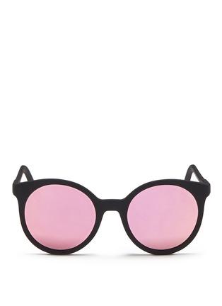 Spektre-'Stardust' flat mirror lens acetate round sunglasses