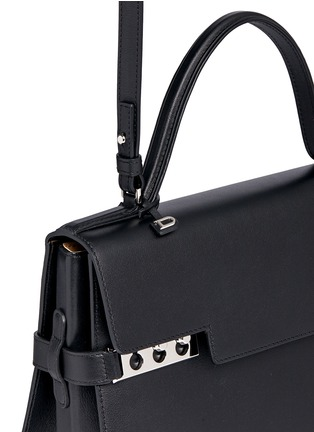 Detail View - Click To Enlarge - Delvaux - 'Tempête GM' leather bag