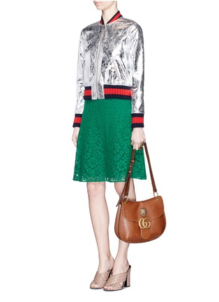 Figure View - Click To Enlarge - Gucci - Cluny lace midi skirt