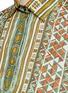 细节 - 点击放大 - VALENTINO - 部落印花纯棉衬衫