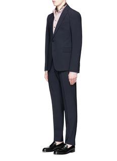Armani Collezioni'Metropolitan' notch lapel wool suit