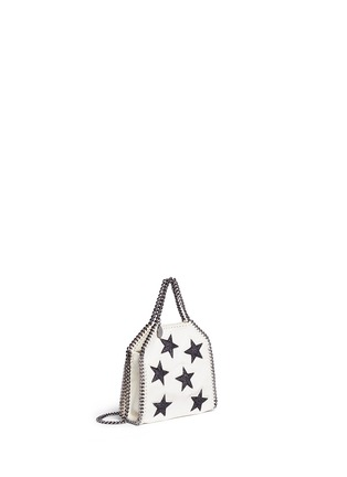 Front View - Click To Enlarge - Stella McCartney - 'Falabella' tiny star appliqué crossbody chain tote