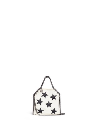 Main View - Click To Enlarge - Stella McCartney - 'Falabella' tiny star appliqué crossbody chain tote