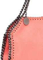 'Falabella' tiny shaggy deer crossbody chain tote