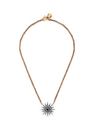 首图 - 点击放大 - LULU FROST - 重叠星星仿水晶项链