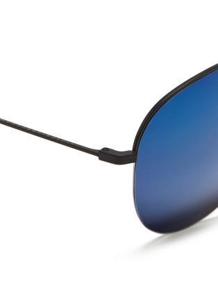 Detail View - Click To Enlarge - Victoria Beckham - 'Classic Victoria' mirror aviator sunglasses