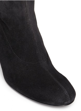 Detail View - Click To Enlarge - Robert Clergerie - 'Passac J' stretch suede knee high boots