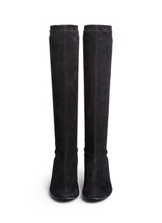 Robert Clergerie 'Passac J' stretch suede knee high boots