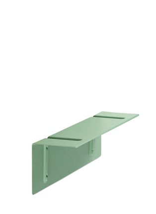 Main View - Click To Enlarge - HAY - Small steel shelf with brackets