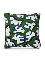 Ice print square cushion