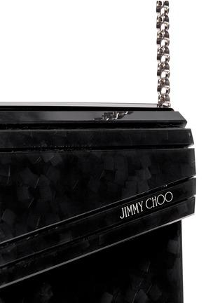 细节 - 点击放大 - JIMMY CHOO - CANDY纸屑图案手拿包