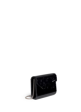 Front View - Click To Enlarge - Jimmy Choo - 'Candy' confetti acetate square clutch