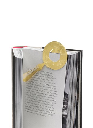 Detail View - Click To Enlarge - Tom Dixon - Tool the Bookworm magnifier bookmark