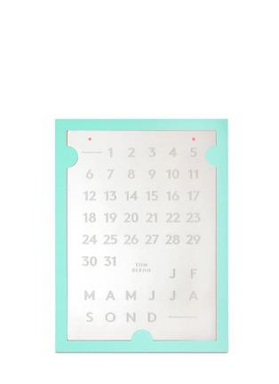 TOM DIXON-TOOL The Perpetual Calendar金属桌面日历