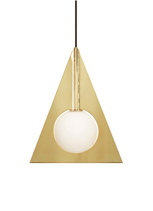 Main View - Click To Enlarge - Tom Dixon - Plane triangle pendant light