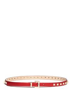 VALENTINORockstud leather belt