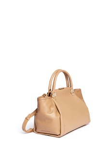 LANVIN Trilogy small leather bag