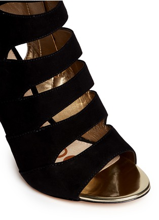 Detail View - Click To Enlarge - Sam Edelman - Anastasia' suede cutout heels