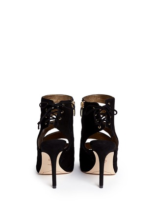 Back View - Click To Enlarge - Sam Edelman - Anastasia' suede cutout heels