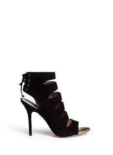 SAM EDELMAN'Anastasia' suede cut-out heels