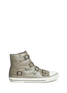 ASH'Virgin' buckle leather sneakers