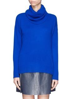 DIANE VON FURSTENBERG'Ahiga' cashmere cowl neck sweater