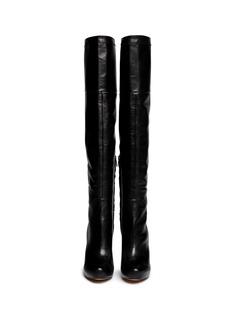 SAM EDELMAN'Kayla' thigh high leather boots