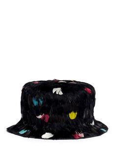 VALENTINOFeather hat